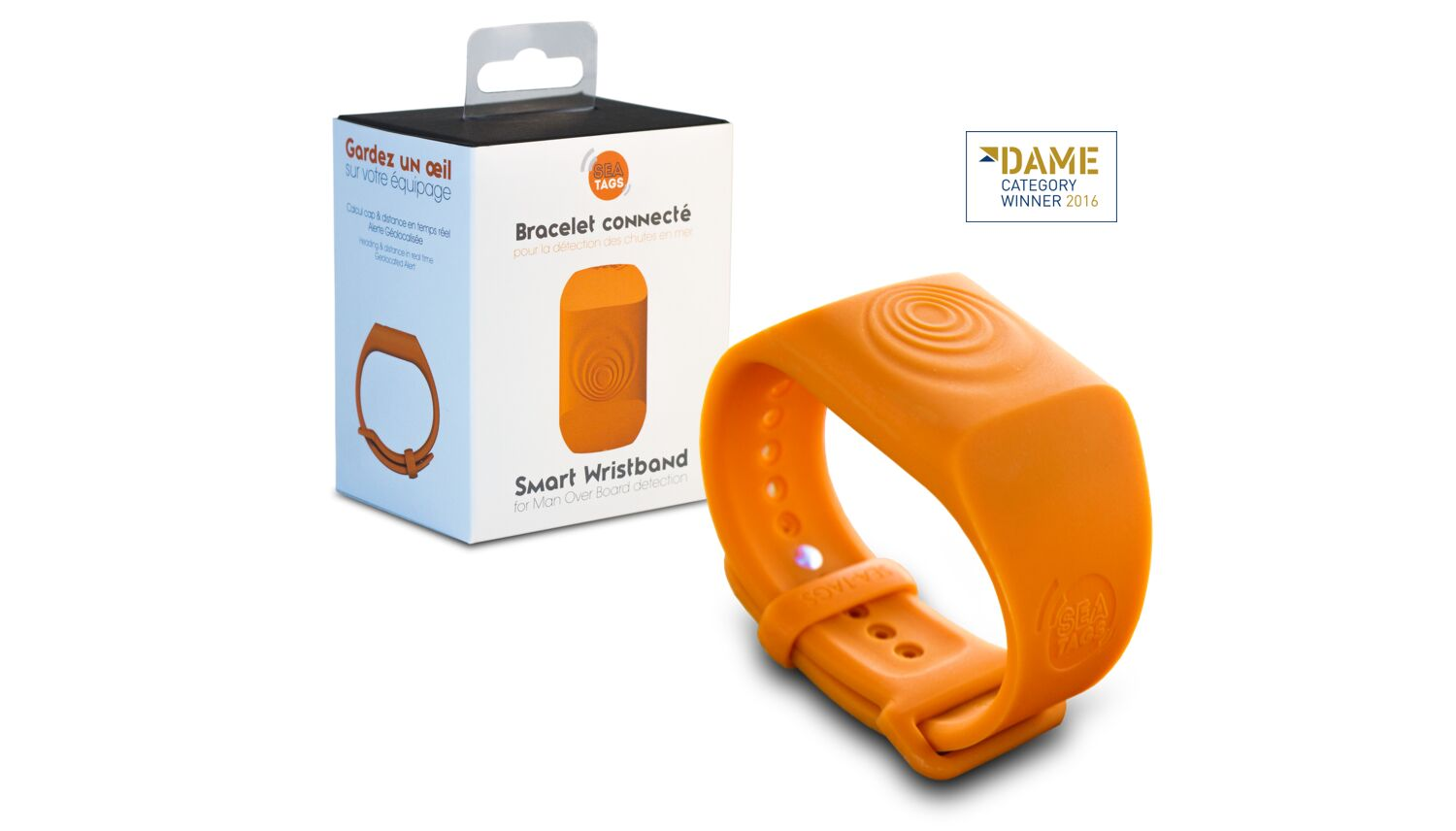 2bf10dd5 Sea Tag - Man Overboard Smart GPS Wristband only £80.94
