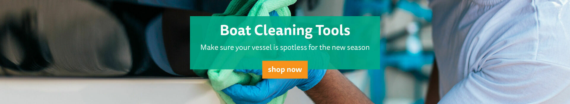 Shop Our Boat Cleaning Tools