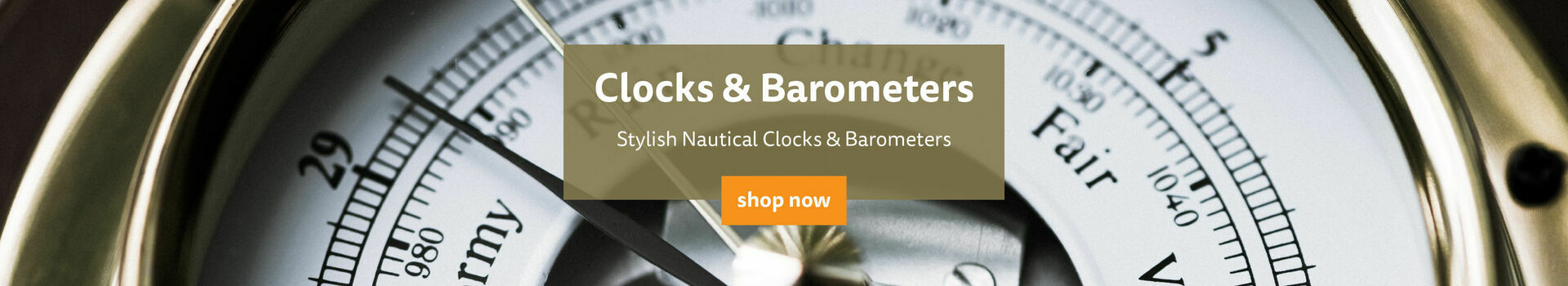 Shop Our Clocks & Barometers