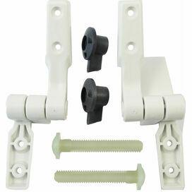 Jabsco Compact Toilet Twist n Lock Hinge Set
