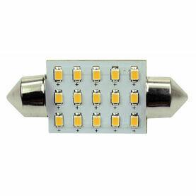 Talamex S-LED 15 Festoon 10-30V 37mm 2700K
