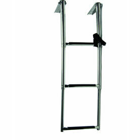 Talamex Steel Telescopic Ladder Platform - 4 Step