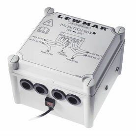 Lewmar Switch Box 12/24V - Negative switching