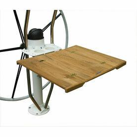 Lewmar Solid Teak Table (inc. Leafs) for Integra Pedestal