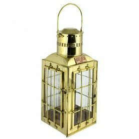 Chief Cargo Oil Lamp - Brass - 38cm