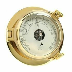 Brass Bridge Barometer - 18cm