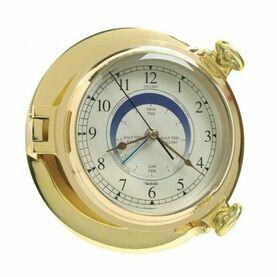 Brass Bridge Tide Clock - 18cm