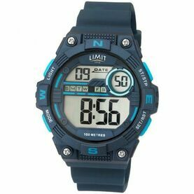 Limit Digital Countdown Watch - Blue/Light Blue