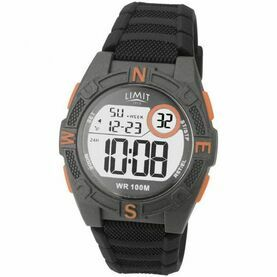Limit Countdown Watch - Grey/Orange