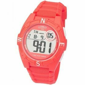 Limit Countdown Watch - Coral Pink