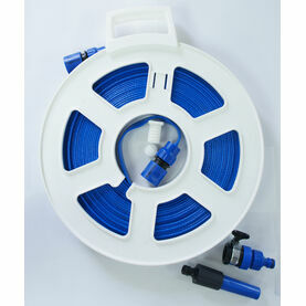 20 Metre Flat Hose Reel (New and Improved 2019 Version)