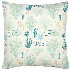 Nauticalia Coral Cushion, 40cm