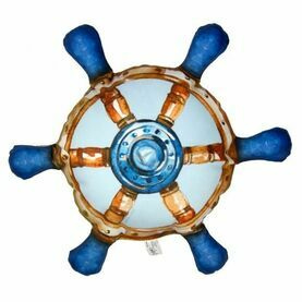Nauticalia Ship's Wheel Cushion, 43cm