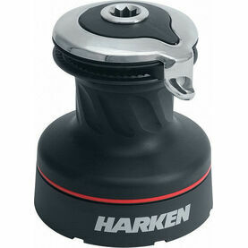 Harken 46 Self-Tailing Radial Black Aluminium Radial Winch 2 Speed
