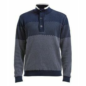Holebrook Anders T-Neck Jaquard - Windproof