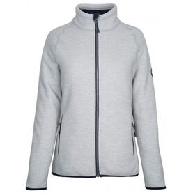Gill Women's Polar Jacket - Light Grey/Navy