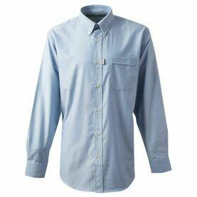 Gill Men's Oxford Shirt - Blue/White