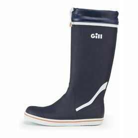 Gill Men\'s Tall Yachting Boot - Dark Blue