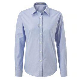 Gill Women's Long-Sleeve Oxford Shirt - Blue/White