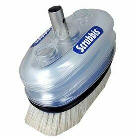 Scrubbis DipDeck Brush With Built-In Water Container