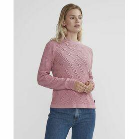 Holebrook Carla Crew Sweater - Vintage Pink