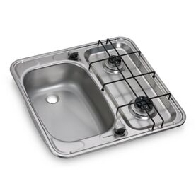 Dometic HS 2460 L Two-Burner Hob And Sink Combination