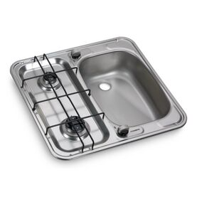 Dometic HS 2460 R Two-Burner Hob And Sink Combination