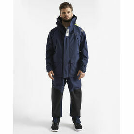 Henri Lloyd Men's O-Race Jacket - Navy Blue & Power Orange
