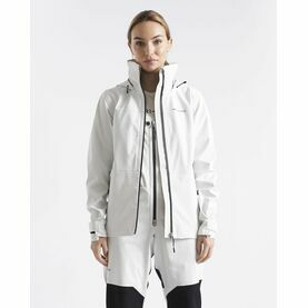 Henri Lloyd Women's M-Course Jacket 2.5L (Cloud White & Navy Blue)