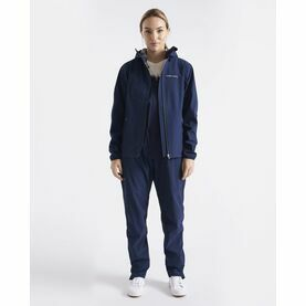 Henri Lloyd Women's M-Course Light Jacket 2.5L (Navy Blue, Cloud White & Navy Block)