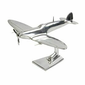 Nauticalia Aluminium Spitfire Sculpture (Different Sizes Available)