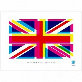 Nauticalia Britannia Waives Rules Dish Cloth
