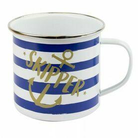 Skipper Tin Mug