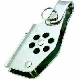 Wichard 24mm Stainless Steel Block: Single/Becket/Shc/Clt