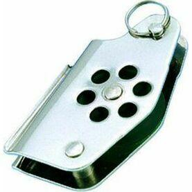 Wichard 24mm Stainless Steel Block: Single/Becket/V.Clt