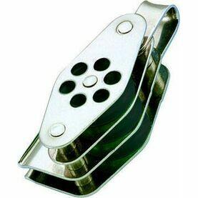 Wichard 24mm Stainless Steel Block: Triple/Becket/Shackle/Clt