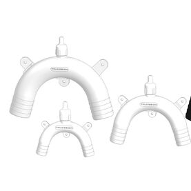 TruDesign Vented Loop - White (Available in Different Sizes)
