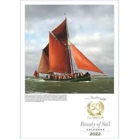 50th Anniversary Collector's Edition Beken of Cowes Calendar 2022 - Beauty of Sail