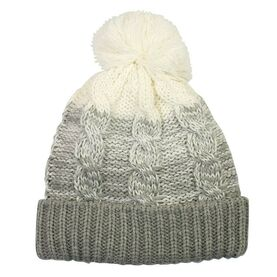 Waterproof Bobble Hat, Grey