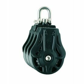 Wichard 70mm Block: Triple Swivel Head