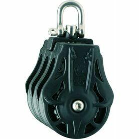 Wichard 35mm ball bearing Block: Triple Swivel Head