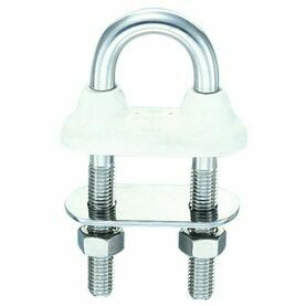Wichard 8mm W/Tight U-Bolt Short-White