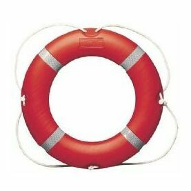 "Ocean Safety 30"" Lifebuoy 4Kg - MCA - Thickness 110mm"