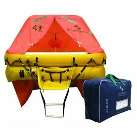 Ocean Safety Ocean ISO 4 Person Liferaft - Valise