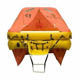 Ocean Safety Ocean 4V 4 Person ISO9650 SOLAS B Liferaft