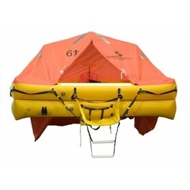 Ocean Safety UltraLite 12 Person Carbon Canister Liferaft