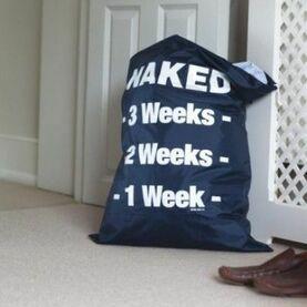Nauticalia Naked Laundry Bag