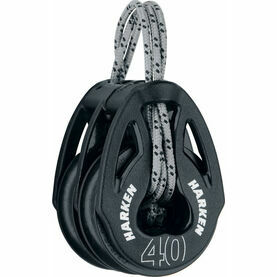 Harken 40 mm Soft-Attach Double Block