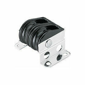 Harken 29 mm Double Upright Lead Bullet Block