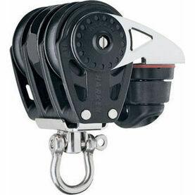 Harken 40 mm Triple Ratchet Block Swivel, Cam Cleat
